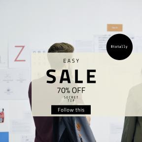 Image design template for sales - #banner #businnes #sales #CallToAction #salesbanner #woman #man #team #workplace #paper #letter #whiteboard #working #caucasian #workshop