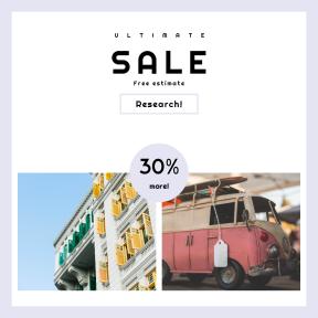 Image design template for sales - #banner #businnes #sales #CallToAction #salesbanner #car #toy #aged #vw #campervan