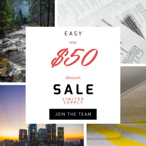 Image design template for sales - #banner #businnes #sales #CallToAction #salesbanner #rugged #evergreen #texture #water #tree