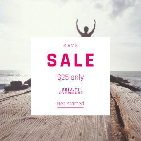 Image design template for sales - #banner #businnes #sales #CallToAction #salesbanner #sun #yoga #stillness #exercise #meditation #beach #fit