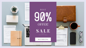 FullHD image template for sales - #banner #businnes #sales #CallToAction #salesbanner #technology #flatlay #mobile #notebook #table
