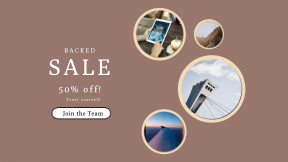FullHD image template for sales - #banner #businnes #sales #CallToAction #salesbanner #coast #airplane #minimal #view #frame
