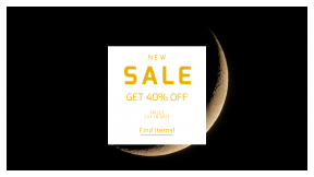 FullHD image template for sales - #banner #businnes #sales #CallToAction #salesbanner #evening #sky #black #curve #night #eclipse #space #background #astrology