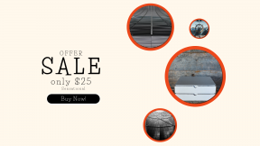 FullHD image template for sales - #banner #businnes #sales #CallToAction #salesbanner #white #dark #black #box #delivery