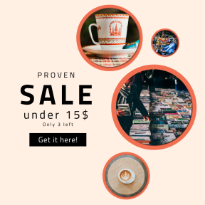 Image design template for sales - #banner #businnes #sales #CallToAction #salesbanner #colorful #cup #fruit #crate #ceramic #latte #kremlin #business #saucer #candy