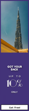 Skyscraper wide web banner template for sales - #banner #businnes #sales #CallToAction #salesbanner #architecture #point #sky #plane #spire #highrise #construction #burj #building #skyscraper
