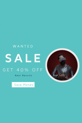 Portrait design template for sales - #banner #businnes #sales #CallToAction #salesbanner #pose #dark #glass #model #time #music #goggles #magazine #costume #fantasy
