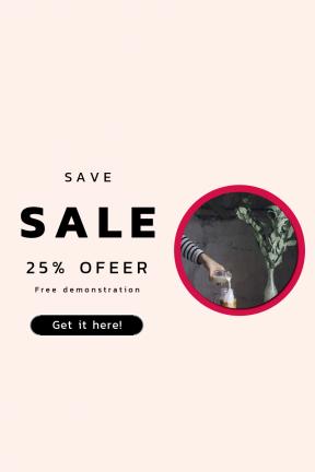 Portrait design template for sales - #banner #businnes #sales #CallToAction #salesbanner #frames #glass #old #background #rustic #arm #frame #shape #and #milk
