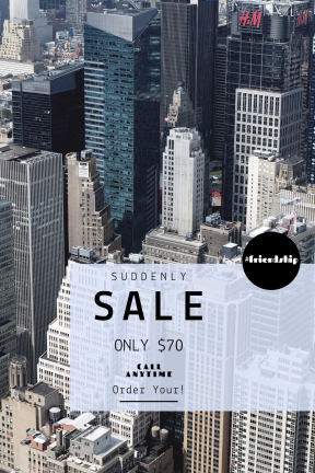 Portrait design template for sales - #banner #businnes #sales #CallToAction #salesbanner #skyscraper #new #york #tall #facade #building #city #metlife #office #cityscape