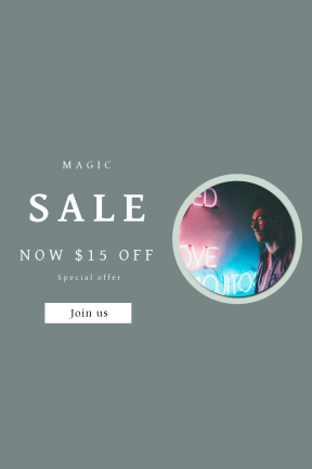 Portrait design template for sales - #banner #businnes #sales #CallToAction #salesbanner #old #max #plant #illuminated #gosling #shop #flower #vision #vintage