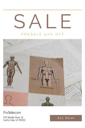 Portrait design template for sales - #banner #businnes #sales #CallToAction #salesbanner #bokeh #medical #diagram #learn #biology #paper #education #blur #medic