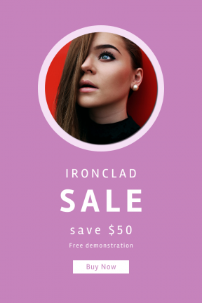 Portrait design template for sales - #banner #businnes #sales #CallToAction #salesbanner #black #drum #view #circles #circular #style #portrait #eyebrow
