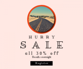 Square large web banner template for sales - #banner #businnes #sales #CallToAction #salesbanner #outdoors #route #perspective #dune #pavement #sky #circular #dessert #geometric #shape