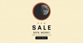 Card design template for sales - #banner #businnes #sales #CallToAction #salesbanner #moon #black #circle #shile #planet #space