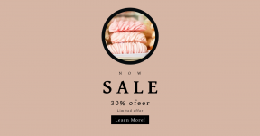 Card design template for sales - #banner #businnes #sales #CallToAction #salesbanner #bake #merengue #chocolate #bakery #circular #obesity #shop #dessert #cookie #soft