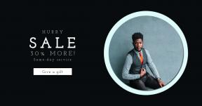 Card design template for sales - #banner #businnes #sales #CallToAction #salesbanner #woman #business #male #headshot #square #businessman