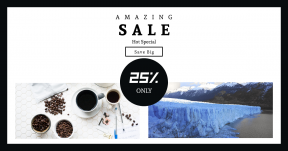 Card design template for sales - #banner #businnes #sales #CallToAction #salesbanner #notes #winter #ice #snowcap #breakfast #lake #icy #frozen #white #topdown
