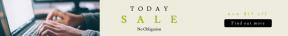 Leaderboard web banner template for sales - #banner #businnes #sales #CallToAction #salesbanner #macbook #keypad #squares #computer #square #portable