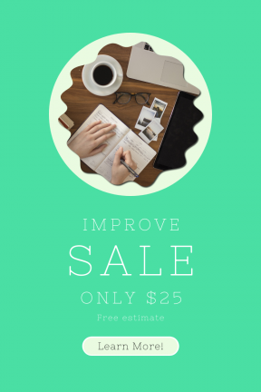 Portrait design template for sales - #banner #businnes #sales #CallToAction #salesbanner #decorative #office #scalloped #squares #fancy #ovals #writing