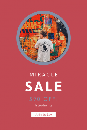 Portrait design template for sales - #banner #businnes #sales #CallToAction #salesbanner #geometrical #tshirt #graffiti #shape #wall #man #mural #lessmonday #circular #black