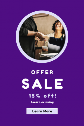 Portrait design template for sales - #banner #businnes #sales #CallToAction #salesbanner #smiling #control #shape #togetherness #hand #support