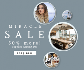 Square large web banner template for sales - #banner #businnes #sales #CallToAction #salesbanner #hair #meeting #building #woman #energy #ocean #white #person #table #hipster
