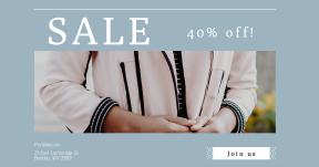 Card design template for sales - #banner #businnes #sales #CallToAction #salesbanner #suit #hands #panels #blazer #model #woman #business
