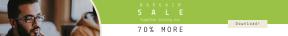 Leaderboard web banner template for sales - #banner #businnes #sales #CallToAction #salesbanner #work #entrepreneur #workspace #glasses #working