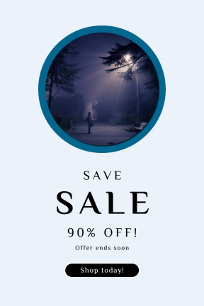 Portrait design template for sales - #banner #businnes #sales #CallToAction #salesbanner #card #tree #ray #circle #round