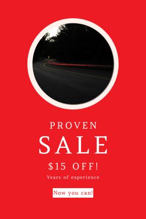 Portrait design template for sales - #banner #businnes #sales #CallToAction #salesbanner #street #forest #woodland #dark #shadow