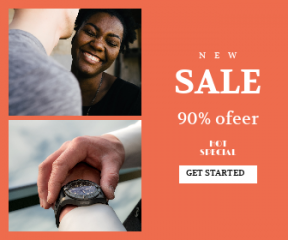 Square large web banner template for sales - #banner #businnes #sales #CallToAction #salesbanner #connect #laughing #cheese #happiness #timing #person #closeup