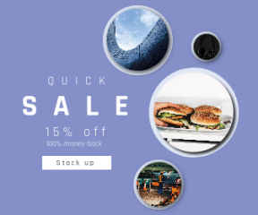Square large web banner template for sales - #banner #businnes #sales #CallToAction #salesbanner #burger #building #urban #finger #hamburger #beoplay #full #hamburgers #fence