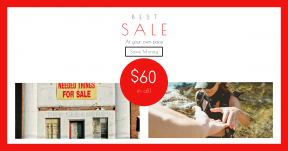 Card design template for sales - #banner #businnes #sales #CallToAction #salesbanner #cliff #facade #exterior #hike #door #entrance #front #grass #light #sea