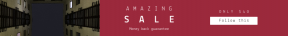 Leaderboard web banner template for sales - #banner #businnes #sales #CallToAction #salesbanner #shape #cityscape #squares #web #helsinki #city #black