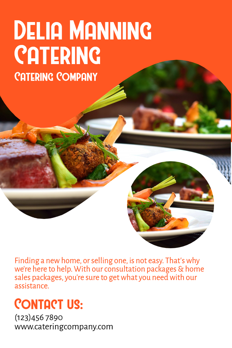 Catering company #catering #food Design  Template