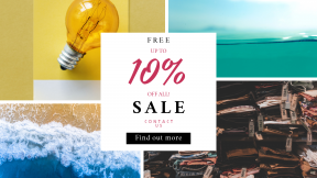FullHD image template for sales - #banner #businnes #sales #CallToAction #salesbanner #ocean #nature #underwater #water #store #view #bokeh #shore #line #coast