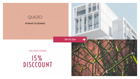 FullHD image template for sales - #banner #businnes #sales #CallToAction #salesbanner #red #white #right #building #concrete #spain #abstract #wire #pink #arch