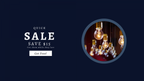 FullHD image template for sales - #banner #businnes #sales #CallToAction #salesbanner #lightbulb #glow #electric #switch #bulb #consulting #illuminate #filament
