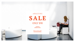 FullHD image template for sales - #banner #businnes #sales #CallToAction #salesbanner #typing #laptop #student #study #business #woman #blond #university #pro #conference