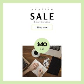 Image design template for sales - #banner #businnes #sales #CallToAction #salesbanner #office #book #credit #workspace #overhead #card #computer #pen #photo #hand