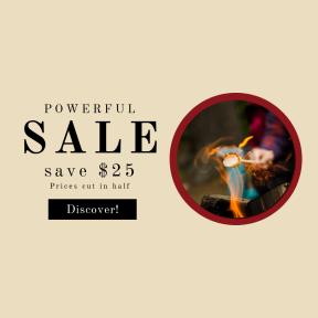 Image design template for sales - #banner #businnes #sales #CallToAction #salesbanner #blur #camping #campfire #bonfire #forest #travel #wood #camp #bokeh #marshmallow