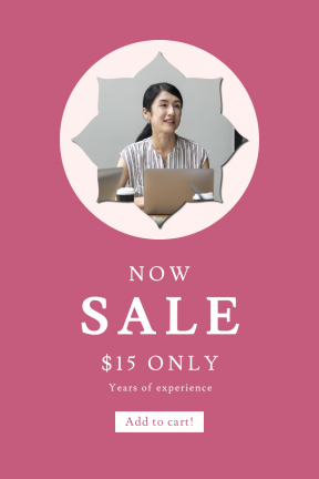 Portrait design template for sales - #banner #businnes #sales #CallToAction #salesbanner #ragged #boxes #tea #and #frames
