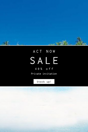 Portrait design template for sales - #banner #businnes #sales #CallToAction #salesbanner #resources #sky #and #landforms #nature #sailing #water #calm