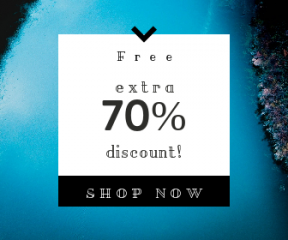 Square large web banner template for sales - #banner #businnes #sales #CallToAction #salesbanner #ship #water #aerial #tree #river #clean #minimal #boat #foliage