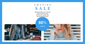 Card design template for sales - #banner #businnes #sales #CallToAction #salesbanner #woman #peruse #shutter #confidence #box