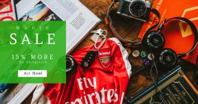 Card design template for sales - #banner #businnes #sales #CallToAction #salesbanner #soccer #book #beer #emirate #shirt #camera #sport #record