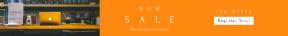 Leaderboard web banner template for sales - #banner #businnes #sales #CallToAction #salesbanner #menu #coffee #latte #maco #glow #light #apple #shop #computer