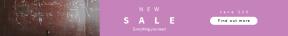 Leaderboard web banner template for sales - #banner #businnes #sales #CallToAction #salesbanner #round #formula #technical #chalkboard #teaching #education #equation #learning #blackboard