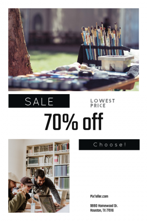 Portrait design template for sales - #banner #businnes #sales #CallToAction #salesbanner #library #bonding #art #person #painting #collection #creative #indoor