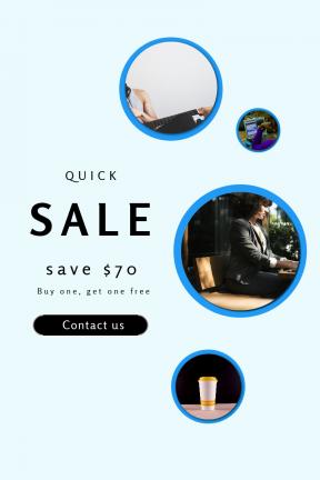 Portrait design template for sales - #banner #businnes #sales #CallToAction #salesbanner #bands #light #table #sun #wakeup #typing #business